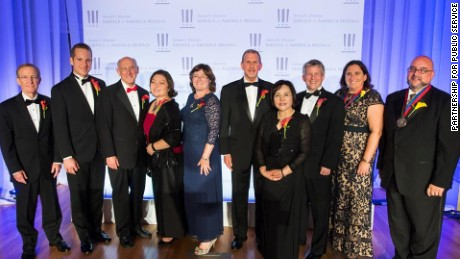 2015 Samuel J. Heyman Service to America Medal Winners