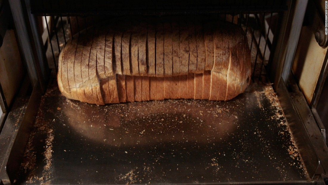 Packaged bread often uses palm oil as it's sold at room temperature, easy to bake with and inexpensive.