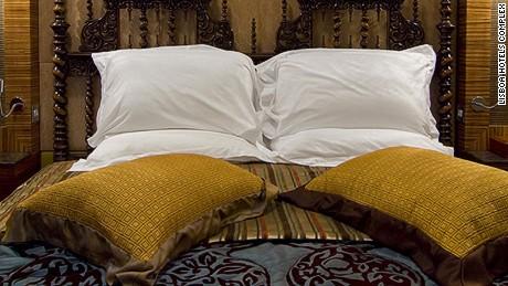 Heritage you can sleep in, at the Pousada de São Tiago.