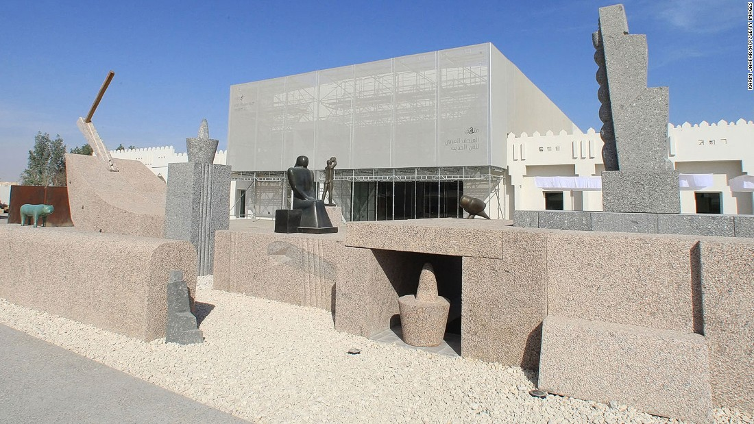 After establishing the largest museum of Islamic art in the region, Qatar opened Mathaf, the first museum of Arab modern art in the world.
