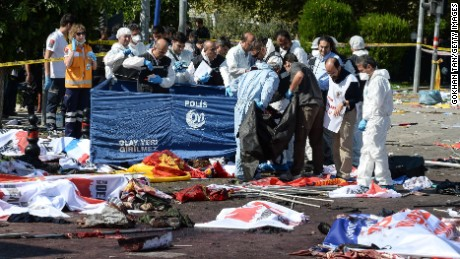 Twin bombs targeted peace rally in Turkey