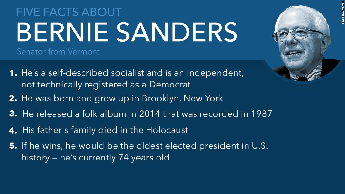 bernie sanders facts mullery