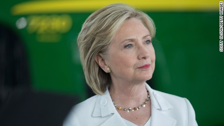 "Clinton abandons trade deal she called ""gold standard"""