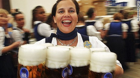 The best of Munich's ambitions match the size of the beers at Oktoberfest.