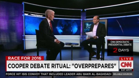 Anderson Cooper 'overpreparing' for the Democratic debate_00022017