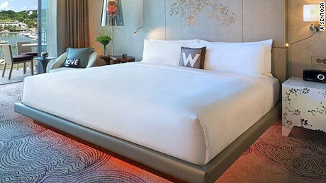 "One of W Sentosa Cove's ""Fabulous"" rooms. Not to be confused with its ""Wonderful"" or ""Spectacular"" counterparts."