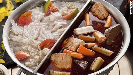 All-you-should-eat hot pot.