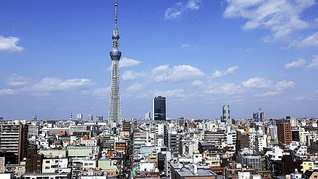 The 634-meter Tokyo Sky Tree is now the world's tallest tower.