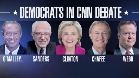 Democratic debate: The lesser-known candidates