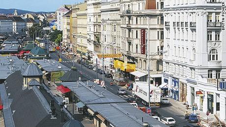 Vienna's preeminent markt, er, market.
