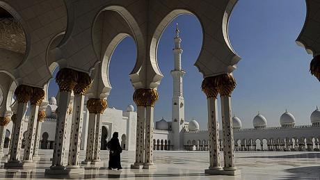 Sheikh Zayed Mosque, the largest mosque in the UAE, is just the start of Abu Dhabi's dazzling sites.