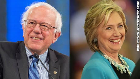 Bernie Sanders and Hillary Clinton face off in tonight's Democratic debate on CNN