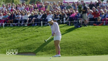 What makes the Evian Championship unique