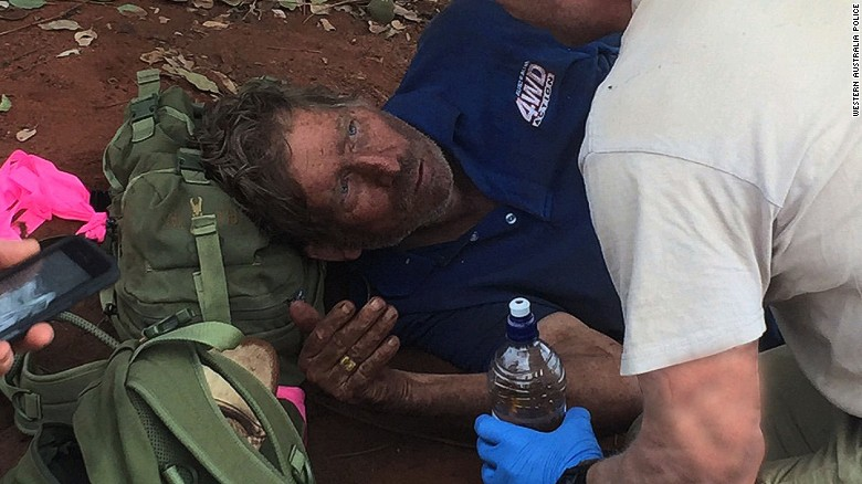 Lost man survives 6 days in Outback by eating ants