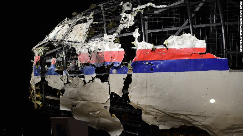 2016 MH17 report: plane downed by Russian-made missile