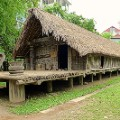 central vietnam 3 E De longhouse Museum Ethnology Hanoi