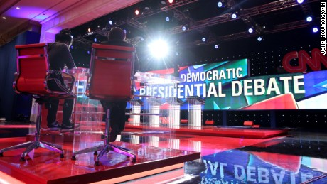 The CNN Democratic Debate airs at 8:30pm E.T. on Tuesday, September 13, from Las Vegas.