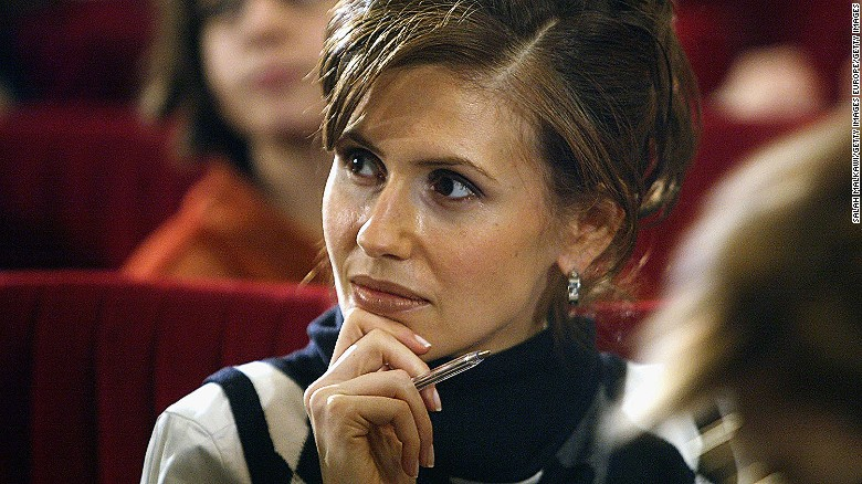 Who is the Syrian first lady?