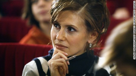 Asma Assad has more than 500,000 followers online.