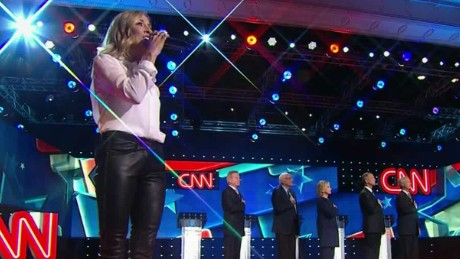 sheryl crow democratic debate national anthem._00000213