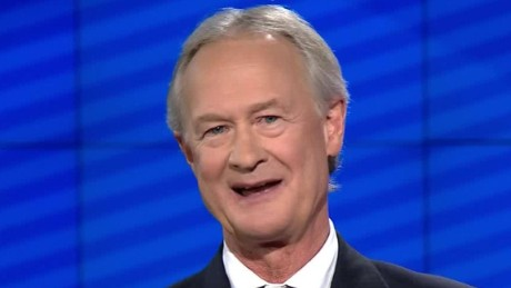 lincoln chafee democratic debate no scandals opening remarks_00001225.jpg