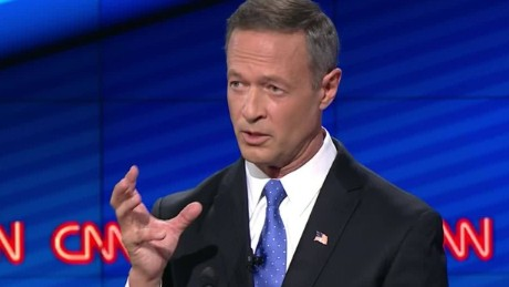 martin o'malley democratic debate baltimore mayor record 7_00015704