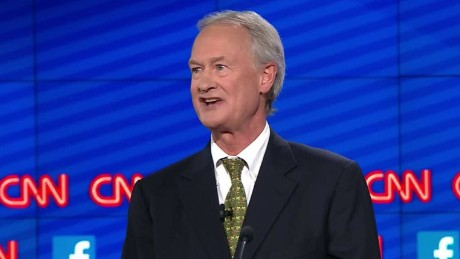 lincoln chafee democratic debate gun control sot_00003614