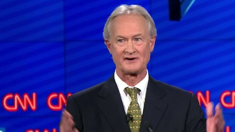 lincoln chafee democratic debate glass steagall vote 31_00001013
