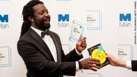"Author Marlon James was named winner of The 2015 Man Booker Prize for ""A Brief History of Seven Killings."""