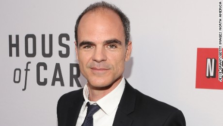 "NORTH HOLLYWOOD, CA - APRIL 25:  Actor Michael Kelly attends Netflix's ""House of Cards"" For Your Consideration Q&A on April 25, 2013  at the Leonard H. Goldenson Theatre in North Hollywood, California.  (Photo by Jesse Grant/Getty Images for Netflix)"