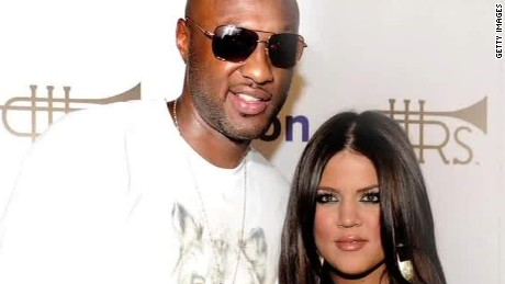 Report: Khloe Kardashian with Lamar Odom in hospital