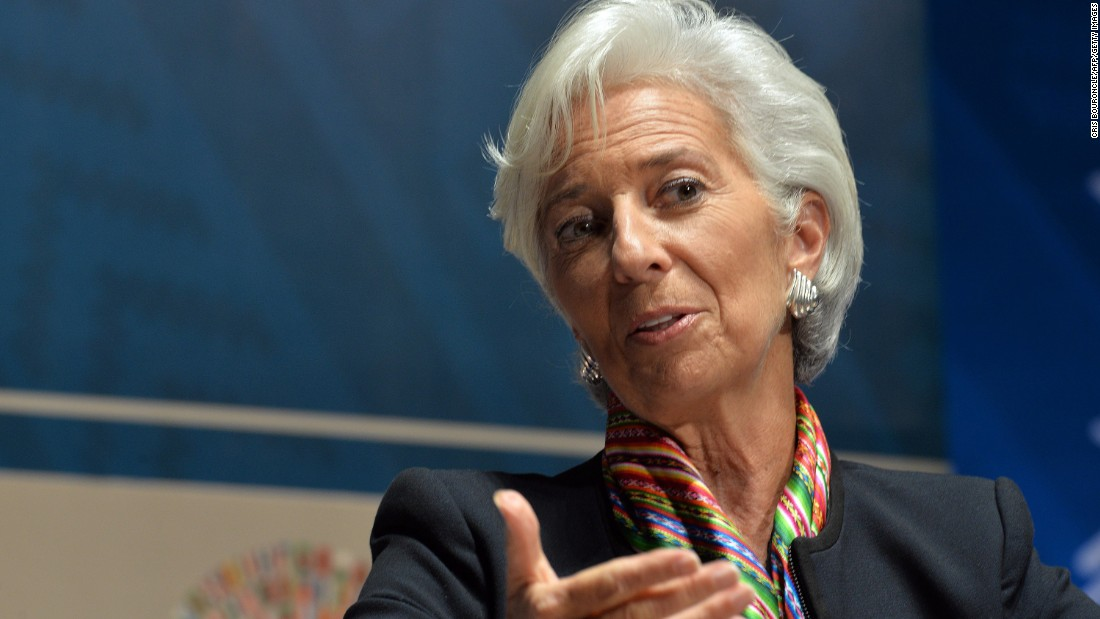 Christine Lagarde, managing director of the International Monetary Fund, knows a thing or two about competition. She was a member of the French national synchronized swimming team as a teen.