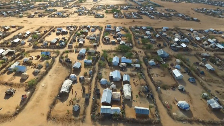 From the air: The world's largest refugee camp