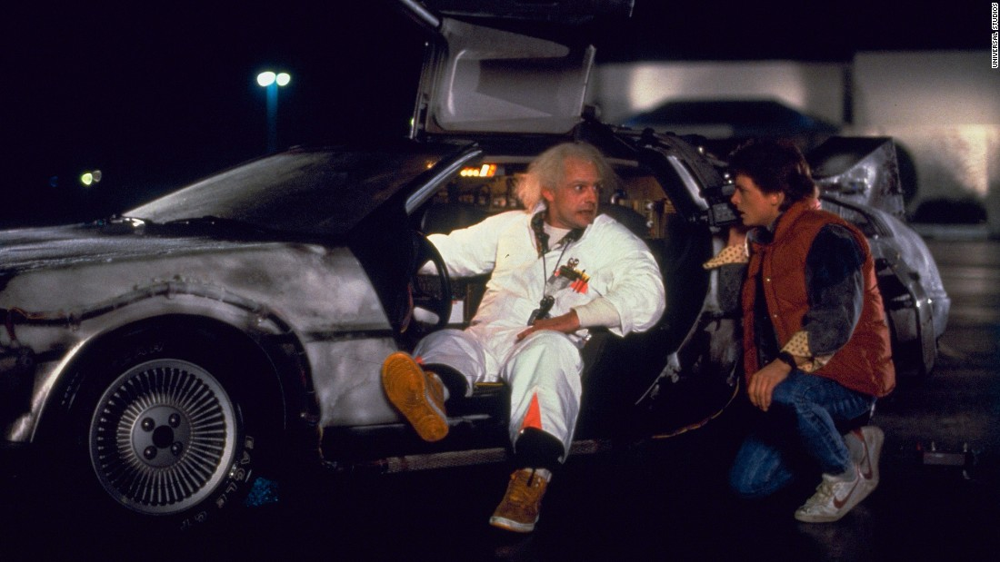 Michael J. Fox and Christopher Lloyd star in 1985's blockbuster hit, Back to the Future. To celebrate the film, Universal Pictures is releasing a Back to the Future 30th Anniversary Trilogy edition on Blu-ray and DVD. The release will coincide with Oct 21, 2015, the date Marty (Fox) and Doc (Lloyd) travel forward in time in Back to the Future 2.