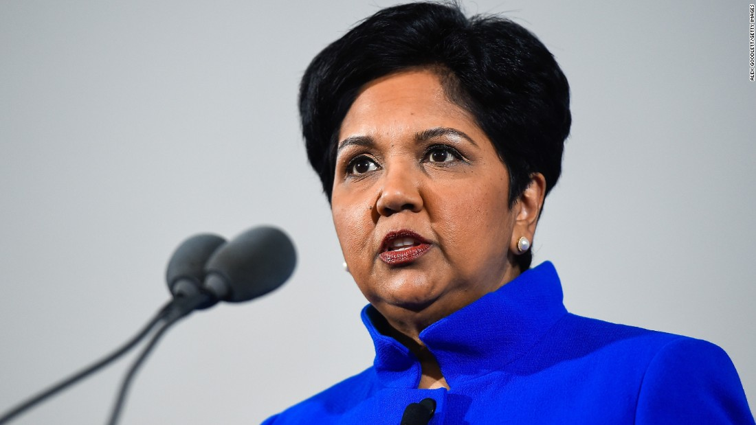 Indra Nooyi, chief executive officer of PepsiCo, grew up playing cricket and played the sport in college in India.