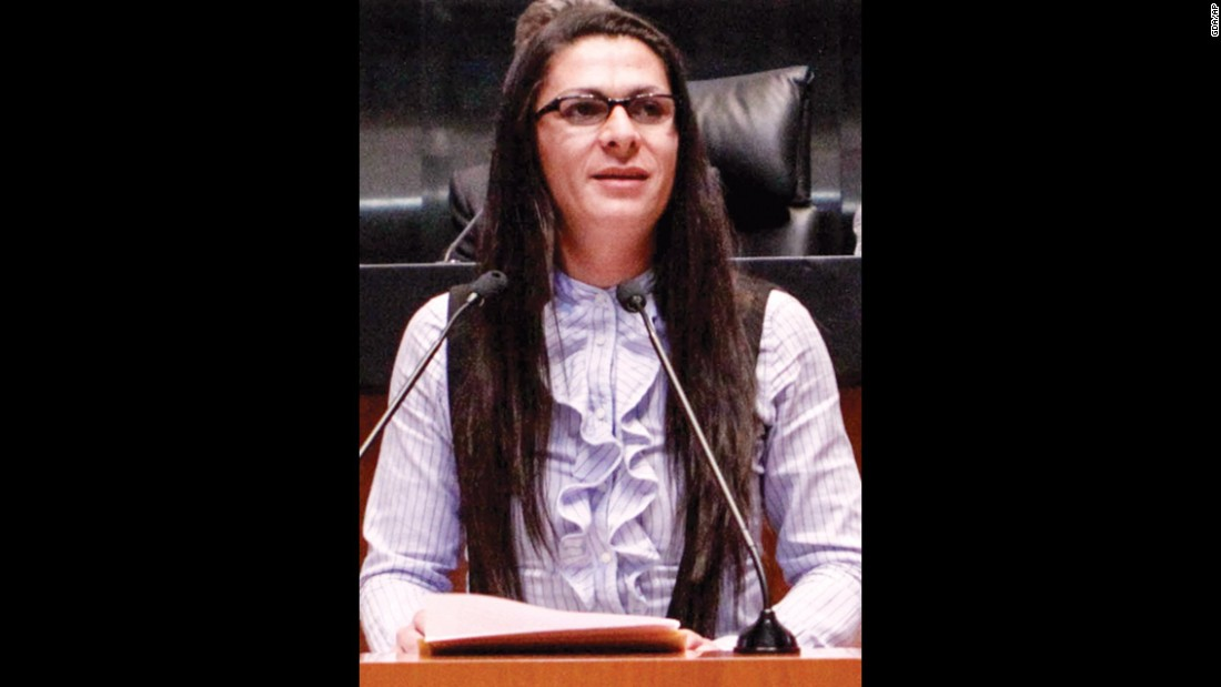 Ana Gabriela Guevara, a senator in Mexico, won a silver medal in track and field at the 2004 Summer Olympics.
