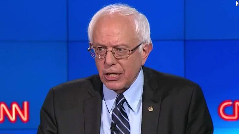 Bernie Sanders talks helping the VA