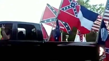 Charges against confederate flag supporters