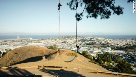 Bernal Heights Summit offers one of the most breathtaking views in San Francisco.