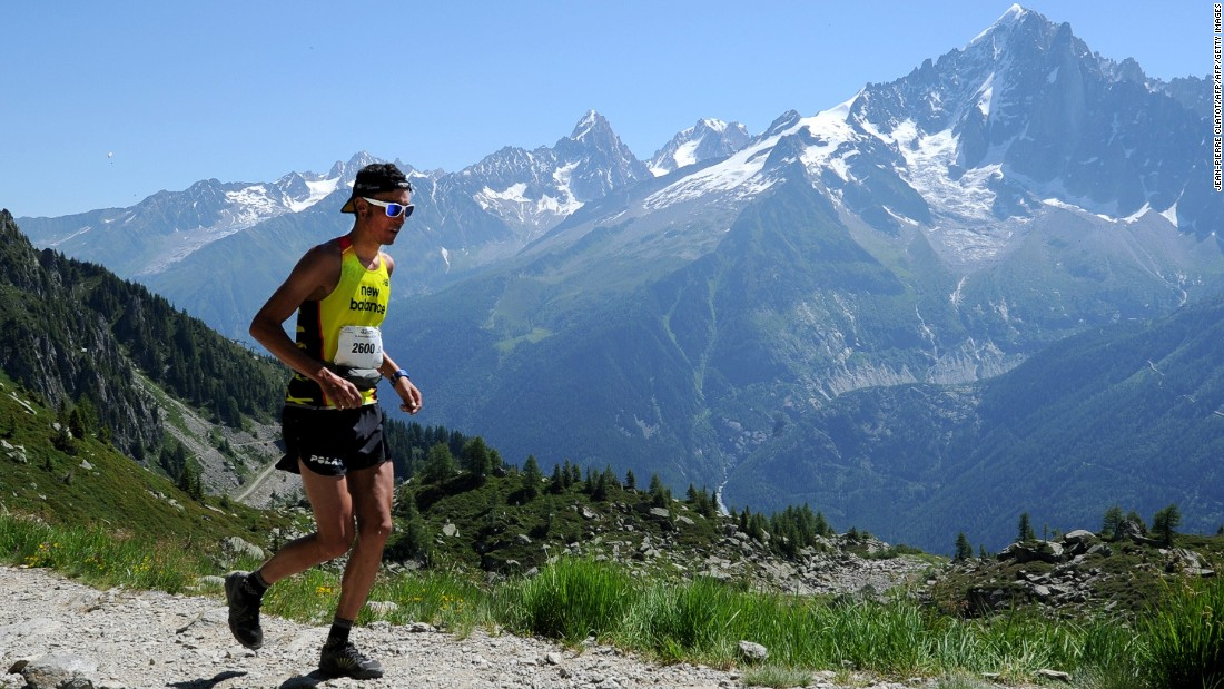 This prestigious ultra marathon event starts in Chamonix, France, with a route that goes through Italy and Switzerland. Each runner has 46 hours and 30 minutes to complete the 168-kilometer course.<br />