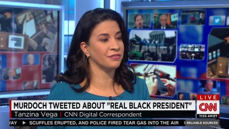 Rupert Murdoch's tweet about a 'real black president'