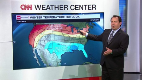 'El Nino' expected to impact winter weather patterns