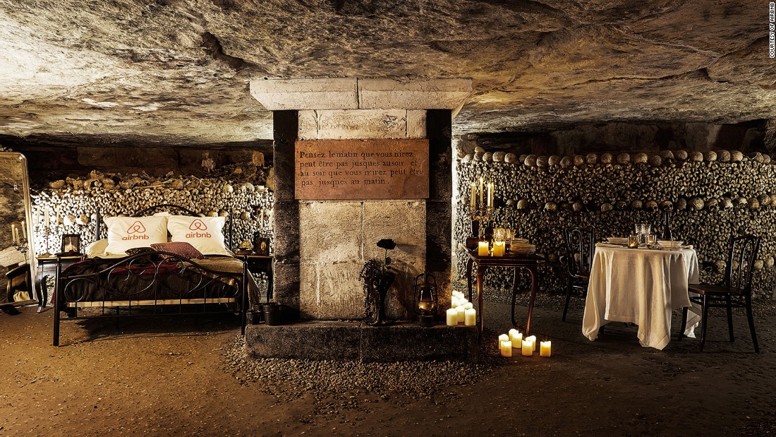 Would you dare spend Halloween in the Paris Catacombs? - CNN.com ...