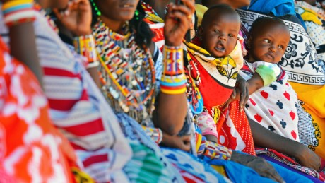 Kenya's baby care market has grown, reflecting a growth in disposable income