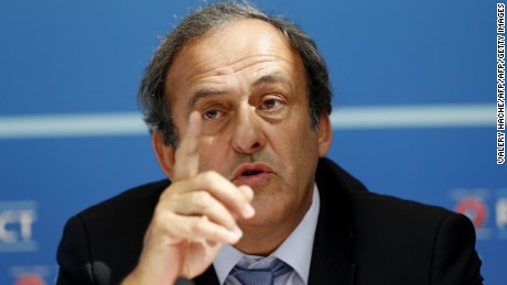 Michel Platini will not run in FIFA presidential election