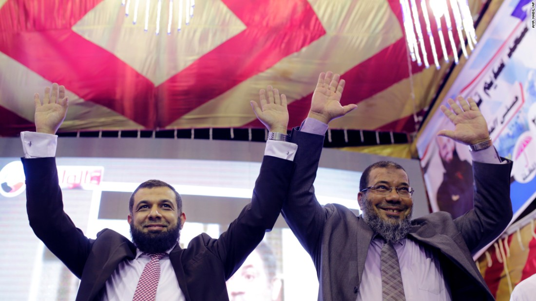 The Muslim Brotherhood, which backed deposed President Mohamed Morsy, has been banned and no candidates from the party are allowed in this election. But the ultra-conservative Nour Party does have candidates, who are warning people that if they don't vote, they have only themselves to blame.