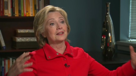 Hillary Clinton on Trump's 'oversized personality'