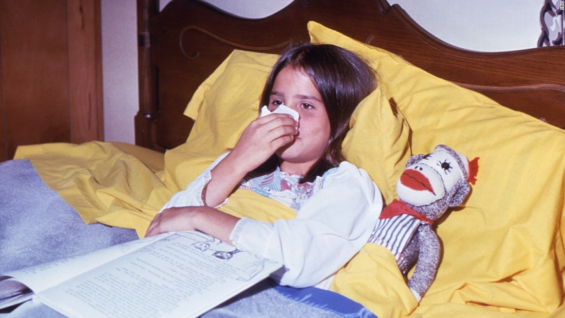 "Common colds are the main reason that children miss school,<a href=""http://www.cdc.gov/features/rhinoviruses/"" target=""_blank""> according to the Centers for Disease Control and Prevention</a>. Most people recover within seven to 10 days, but children are likely to experience more colds than adults. Check out <a href=""http://www.cnn.com/2015/09/23/health/cold-flu-survival-guide/"">the ultimate cold and flu survival guide</a>, and click through to learn more about other common childhood illnesses:"