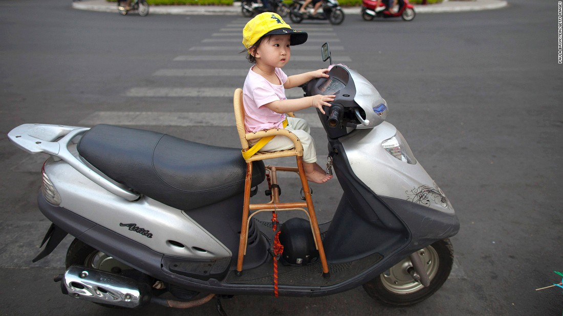 Cars are becoming more common in Ho Chi Minh City, but one of the best ways to dive into the city is on one of its six million motorcycles -- still the city's most popular mean of transport.