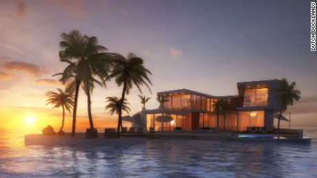 Amillarah Private Islands will form the Australasia portion of Dubai's World Islands.